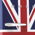 Union Jack Smeg Fridge