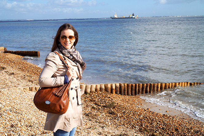 A Walk on Calshot Beach