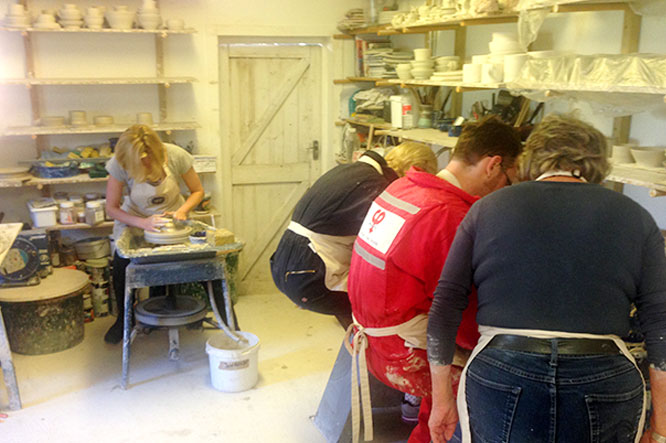 Pottery Making Lesson