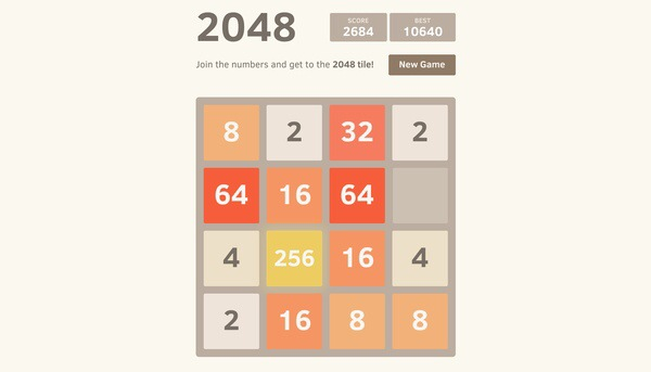 My new addiction – 2048