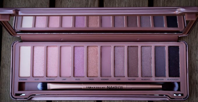 Getting To Grips With The Naked3 Eyeshadow Palette