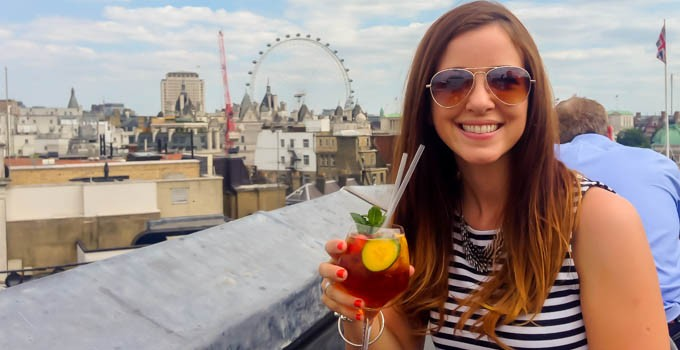 Rooftop Bars in London & Dinner With  A View